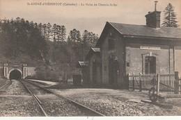 14/ Saint André D'Hebertot - La Halte De La Gare - France