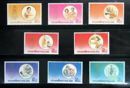 Thailand Stamp 1987 HM King 60th Birthday Ann 2nd - Thailand