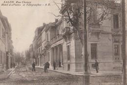 CPA  13  SALON HOTEL DES POSTES TELEGRAPHES RUE CHANZY - Salon De Provence