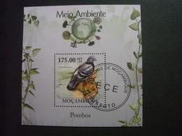 """MOZAMBIQUE  De  2010   (o)     """"    Meio  Ambiente   """"    1 Bloc . - Mozambique"""