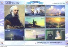 2017. Mountainous Karabakh, Ivan Aivazovsky, Painter, Sheetlet, Mint/** - Arménie
