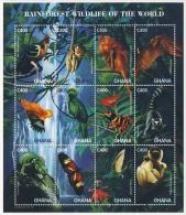 MDB-BK2-113-3 MDA MINT ¤ GHANA 1996 12w In Serie ¤ ANIMALS - OISEAUX - BIRDS - PAJAROS - VOGELS - VÖGEL - - Other