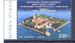 2017. Armenia, 300y Of Mekhitarist Congregation, 1v, Mint/** - Arménie