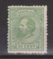 Nederland Netherlands Niederlande Pays Bas Holanda 24 MLH  Ongebruikt ; Koning Roy Rey King Willem III 1872 Very Fine - Ongebruikt