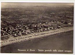 MIRAMARE DI RIMINI - VEDUTA GENERALE DELLA SPIAGGIA  ( RN ) - Rimini