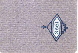 Petit Livre Calendrier De 1928 Avec Tableaux Des Poids Et Tailles Moyens Des Enfants - Calendriers