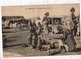 DJIBOUTI VENDEUSES DE LAIT SOMALIS - Djibouti