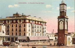 MAROC  CASABLANCA  La Nouvelle Place De France - Casablanca