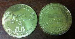 80 SOMME THIEPVAL N°5 2018 MÉDAILLE MONNAIE DE PARIS 2018 JETON MEDALS TOKEN COINS - Monnaie De Paris
