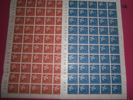 TIMBRES LUXEMBOURG EUROPA - Full Sheets