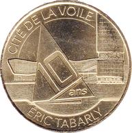56 MORBIHAN LORIENT CITÉ DE LA VOILE N°3 ÉRIC TABARLY MÉDAILLE MONNAIE DE PARIS 2018 JETON MEDALS TOKEN COIN - Monnaie De Paris