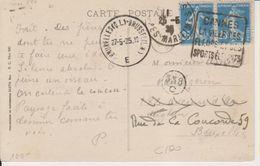1925 France 06 Alpes Maritimes Cannes Carte Postale Daguin 'La Ville Des Fleurs Et Des Sports Elegants' - Postmark Collection (Covers)