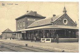 Lommel, Statie, Verstuurd 1928 - Lommel