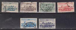 LEBANON Scott # C155, C159-62, C164 Used - Airmail Issue - Lebanon