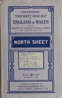 Carte Routière - Geographia Two Sheet Road Map: England & Wales (Angleterre Et Pays De Galles) - North Sheet - Cartes Routières