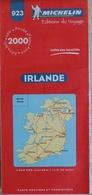 Carte Routière Et Touristique Michelin N° 923: L'Irlande Année 2000 - 1/400.000e - Cartes Routières