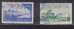 LIBERIA Scott # C75-6 Used - Airmail Issue - Liberia