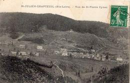 SAINT-JULIEN-CHAPTEUIL VUE DE SAINT-PIERRE EYNAC - France