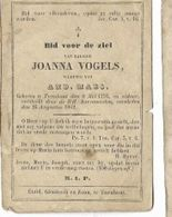 DPO Z34/ ° TURNHOUT 1793 + 1862  JOANNA VOGELS - Religion & Esotericism