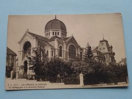 LA CHAUX De-FONDS ( J. J. 3373 - Jullien ) La Synagogue Et Le Controle Féderal / Anno 19?? ( Zie Foto Details ) ! - NE Neuchâtel