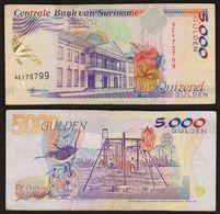 5000 GULDEN 1999 SURINAME - Surinam