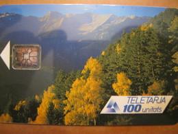 Télécarte Andorre - Andorra