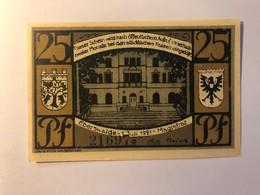 Allemagne Notgeld Eberswalder 25 Pfennig - [ 3] 1918-1933 : Weimar Republic