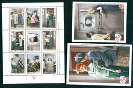 Mongolia 1999 I Love Lucy 1st Issue Movie Cinema Klbg+2Bl Shtl+2S/S MNH - Mongolia