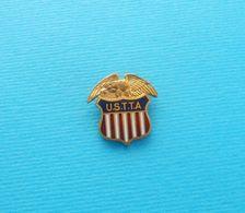 USA TABLE TENNIS ASSOCIATION (USTTA) Rare Pin Badge Tennis De Table Ping Pong Tischtennis Tenis De Mesa Tennis Da Tavolo - Table Tennis
