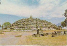 (INDO156) JAVA. BOROBUDUR . THE BIGGEST BUDHIST TEMPLE ... UNUSED - Indonesia