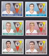 MANAMA N°   18, AERIENS N° 23 ** MNH Neufs Sans Charnière, 6 Valeurs (D5035) Champions De Football Allemands - Manama