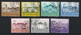 Hungary 1987. Big Castles Nice Set, USED With First Day CTO Cancellings ! - Ungarn