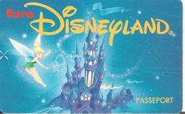 PASS-EURODISNEYLAND-1992-FEE CLOCHETTE-VGS-00006-TBE - Pasaportes Disney