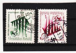 MOO752 DEUTSCHES REICH 1939 Michl 692/93 Used / Gestempelt SIEHE ABBILDUNG - Deutschland