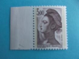 TIMBRE : 2243b , LIBERTE De DELACROIX , PAPIER WHILEY , GOMME MATE , Peu Courant , XX , Timbre En Bon état - 1982-90 Libertà Di Gandon