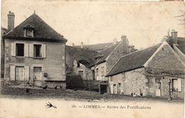 - LORMES - 1905 - Restes Des Fortifications - Lormes