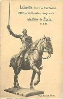 - Ref-W459- Moselle - Metz - Statue De Lafayette - Oeuvre De Bartlett Offerte Par Les Chevaliers De Colomb A La Ville - - Metz