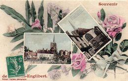 - Souvenir De MOULINS-ENGILBERT - - Moulin Engilbert