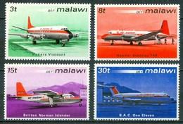 1972 Malawi Aerei Aircraft Avions MNH** C7 - Malawi (1964-...)