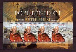 2009 - GRENADA, BF, Visita Di Benedetto XVI A Betlemme - MNH ** - Grenada (1974-...)