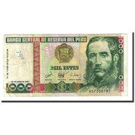 Billet, Pérou, 1000 Intis, 1987-06-26, KM:136b, TB - Pérou