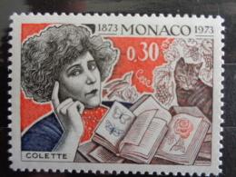 MONACO 1973 Y&T N° 920 ** - CENT. NAISSANCE  DE GABRIELLE COLETTE, DITE COLETTE - Ongebruikt