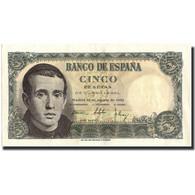 Billet, Espagne, 5 Pesetas, 1951, 1951-08-16, KM:140a, SUP - 5 Pesetas