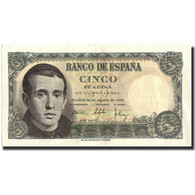 Billet, Espagne, 5 Pesetas, 1951, 1951-08-16, KM:140a, SUP - [ 3] 1936-1975 : Régence De Franco