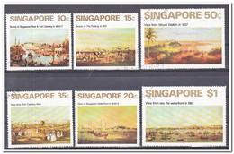 Singaporer 1971, Gestempeld USED, Views - Singapore (1959-...)
