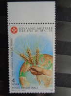 S.M.O.M 1981 UNIFICATO N° 197 ** - LUTTE CONTRE LA FAIM - Malta (Orde Van)