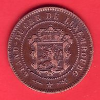 - LUXEMBOURG - 5 Centimes - 1854 - - Luxembourg