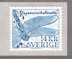 Sweden 2014 MNH 14k Baltic Hawker Dragonfly - Neufs