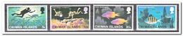 Kaaiman Eilanden MI 383-386, Postfris MNH, Fishes, Divers - Kaaiman Eilanden