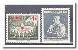 Cuba 1957, Postfris MNH, Scouting - Cuba
